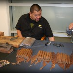 Cigar Rolling at Rolls Royce Newport Beach Event