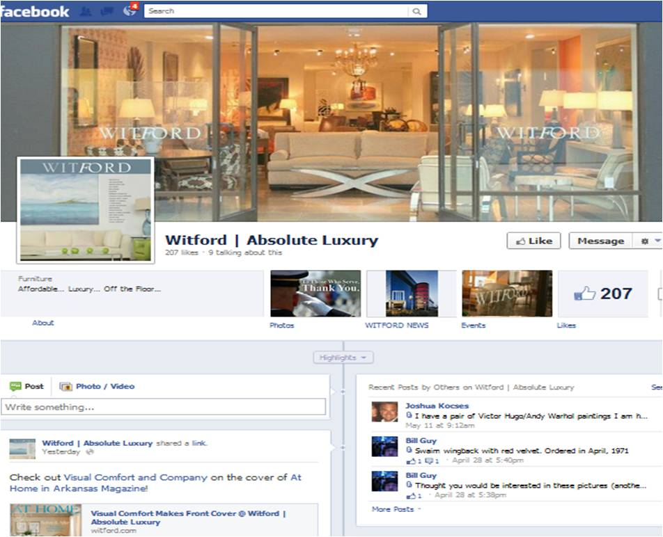 Witford Facebook
