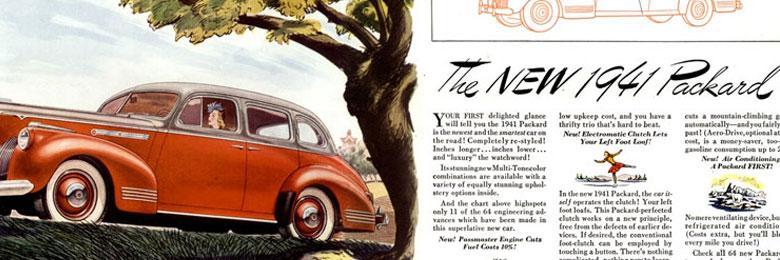 1941 Packard Ad