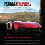 "Comatica to Produce Lamborghini Club America ""Serata Italiana"" Gala"