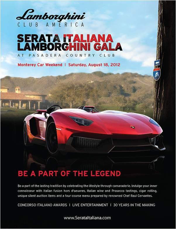 Serata Italiana Lamborghini Club Gala