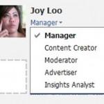Facebook New Admin Roles