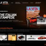 La Vita Lamborghini Magazine Home Page