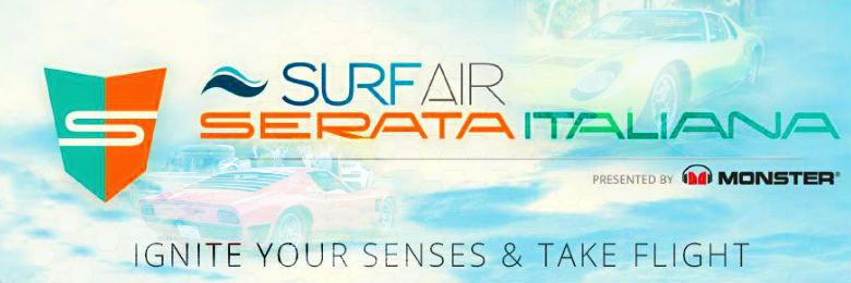 Surf Air Serata Italiana Lamborghini Gala Portfolio