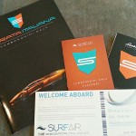 Surf Air Serata Italiana Branded Booklet Collateral